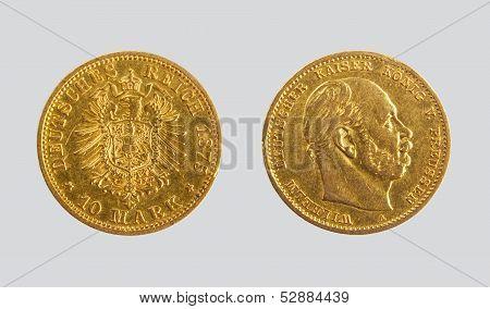 10 gold mark