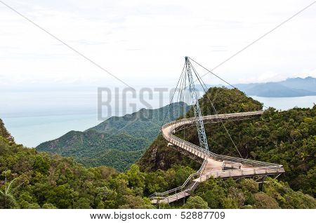 The Langkawi Sky Bridge In Langkawi Island
