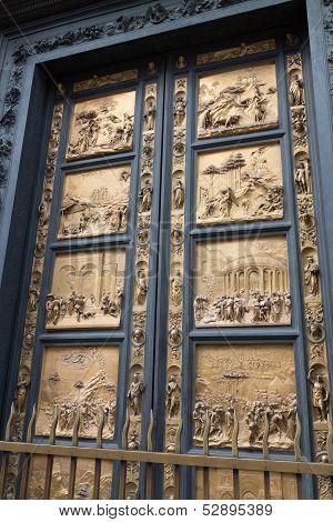 Ghiberti's Baptistry Doors