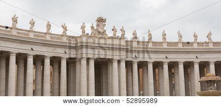 St. Peter's Basilica Colonnade