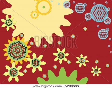 Cogwheel Sunflower