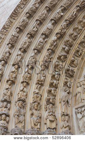Notre Dame Archivolts