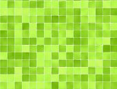 picture of floor covering  - Green tiles wall covering  - JPG