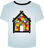 T Shirt Template- Home