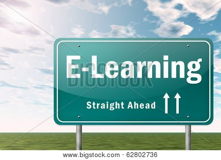 Highway Signpost E-learning