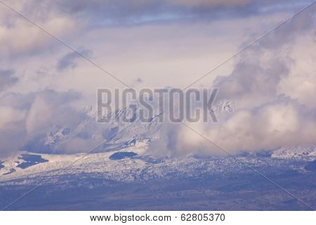 Monti Nebrodi With Snow