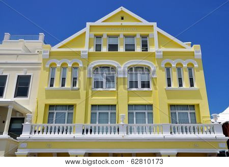 Colorful Buildings In Bermuda