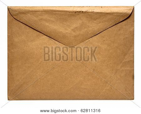 Vintage Distressed Brown Envelope