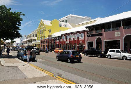 A Day In Downtown Hamilton, Bermuda