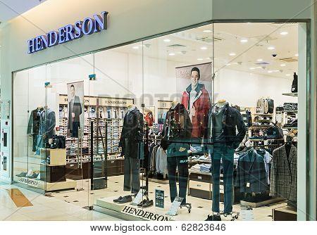 Henderson Store Menswear In Metropolis Mall