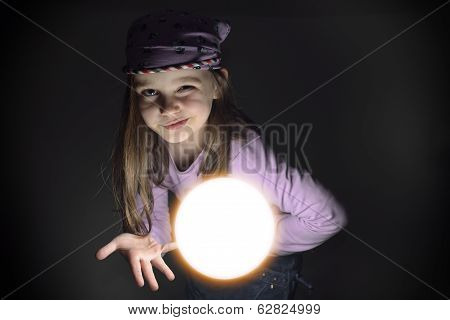 Little Gypsy Fortune Teller