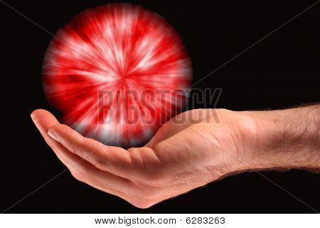 Red Ball Of Light