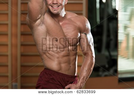 Abdominal Muscle Close-up