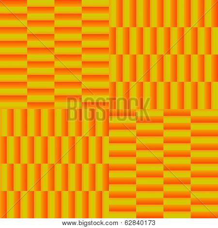 Gradient blocks parquet pattern, background for a tile.