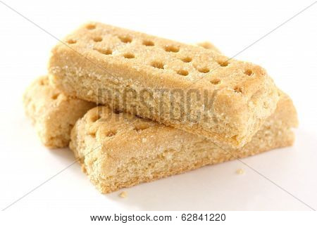 Shortbread finger biscuits