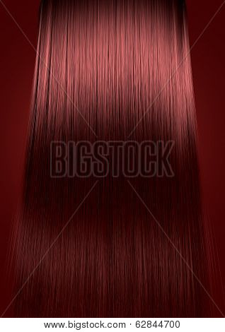 Red Hair Perfect Straight