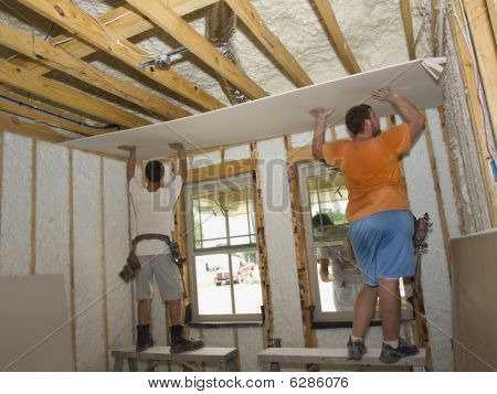 Holding Up The Sheetrock