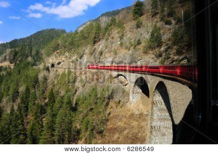 Alpine Train Ride