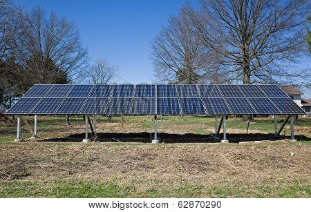 Backyard Solar Panels