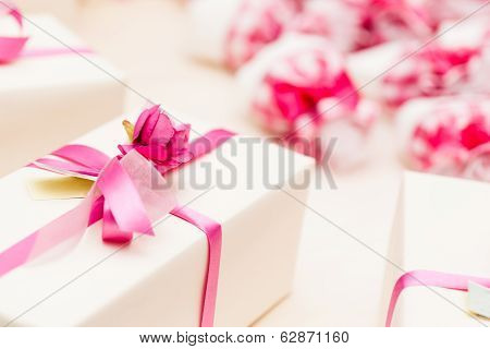 Wrapped Wedding Gifts