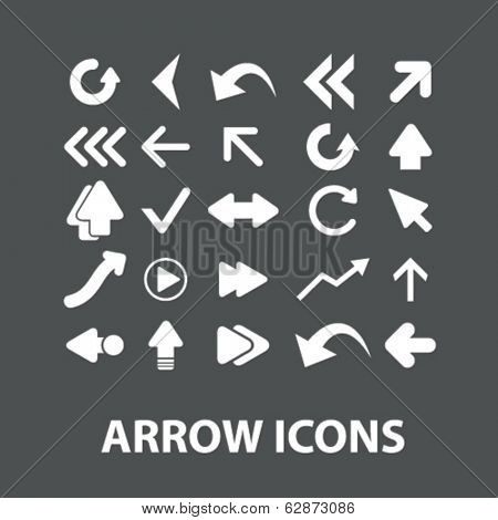 arrow icons set, vector