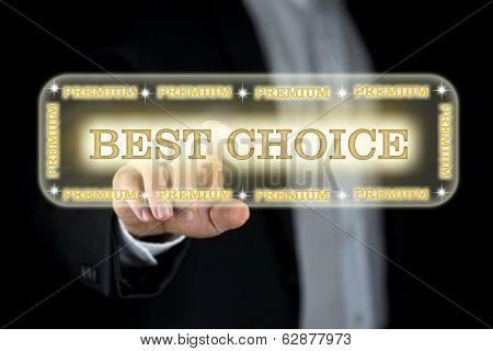 Best Choice Navigation Bar On A Virtual Screen