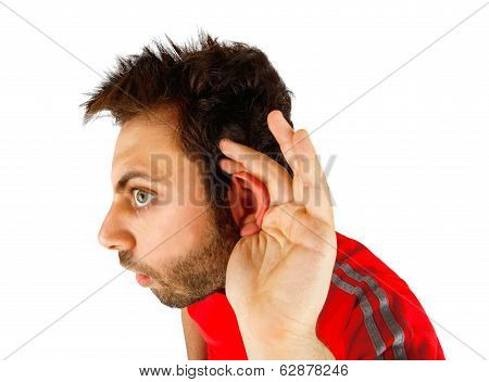 Young Boy With Hearing