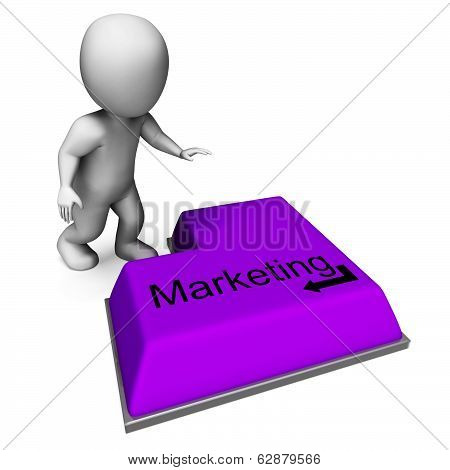 Marketing Key Shows Promotion Advertising And Pr