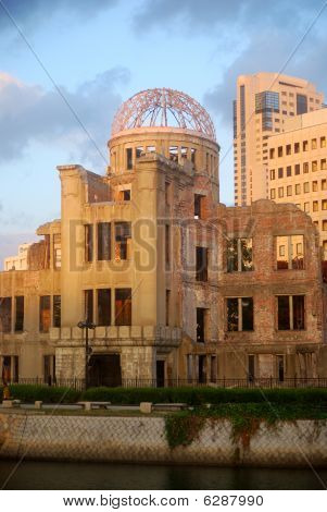 The A-Bomb Dome, Hiroshima, Japan