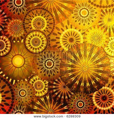 Art Floral Background