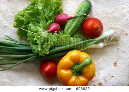 Vegetables For Salad - 2