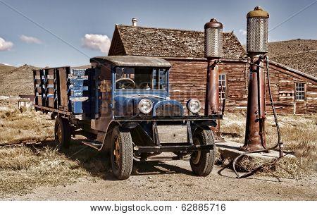 1927 Vintage truck in Bodie Ghost Town