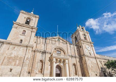 Saint John's Co-cathedral In Valletta, Malta