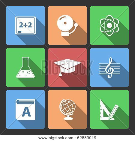 Iconset for educational app