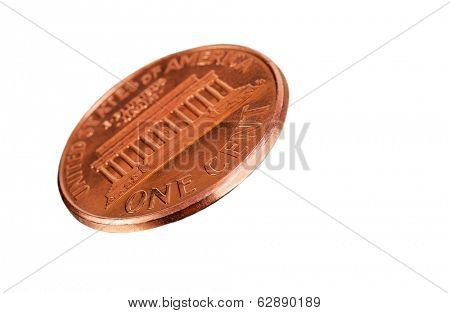 Very Nice Macro isolation of a US Penny