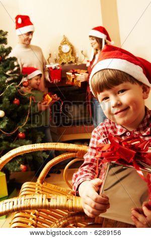 During Christmas