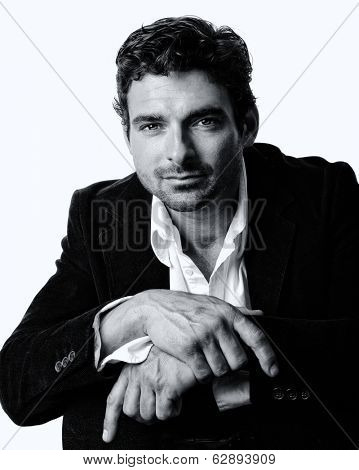 Very Nice Isolated Image of a Handsome Man
