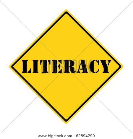 Literacy Sign