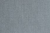 knitted woolen fabric of gray blue color