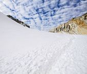 stock photo of cho-cho  - Cho La Pass in Sagarmatha National Park - JPG