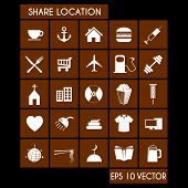 Shared Location Icon