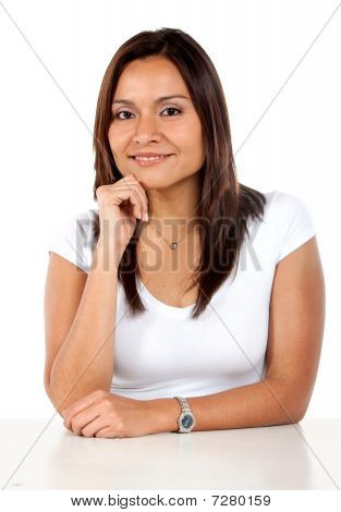 Casual Woman Portrait