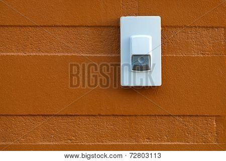 Doorbell On Wall.