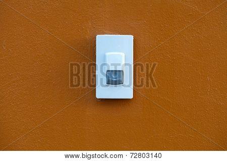Doorbell On Wall