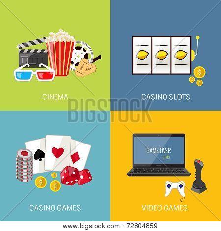 Games flat set