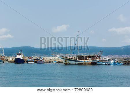 Ship In Bay