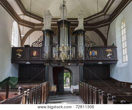 Interior Of Church Garnwerd