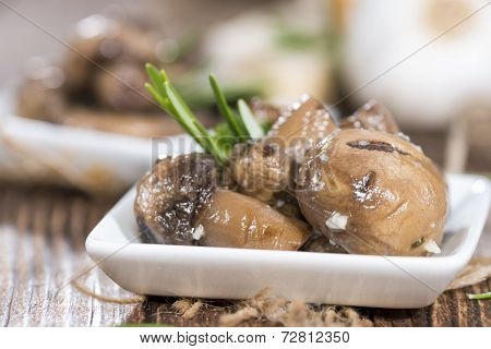 Antipasti Mushrooms
