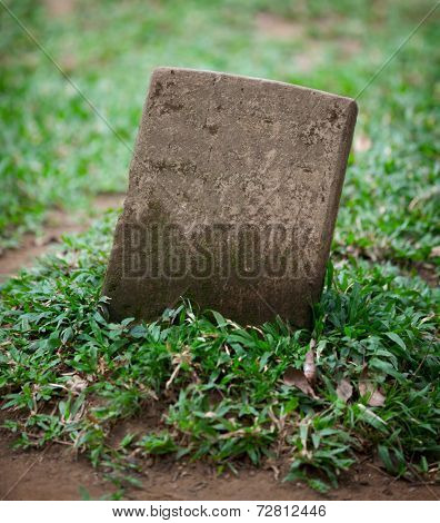 Old Small Gravestone