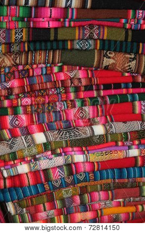 South American traditional fabric